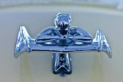 1959 Nash Metropolitan - Flying Lady Hood Ornament