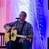 Veteran Jason Moon entertains the crowd during Montachusett Veterans Outreach Center's 35th anniversary celebration at the Colonial Hotel in Gardner on Wednesday evening. SENTINEL & ENTERPRISE / Ashley Green