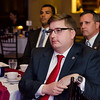 Representative Jon Zlotnik listens to speakers during Montachusett Veterans Outreach Center's 35th anniversary celebration at the Colonial Hotel in Gardner on Wednesday evening. Zlotnik would later receive the MVOC Ally Award. SENTINEL & ENTERPRISE / Ashley Green