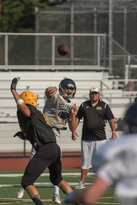 Taken during a 4 way scrimmage played at Mountain View High School in California between MVHS, Homstead, Bellarmine and Half Moon Bay High Schools.