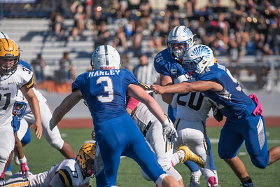 Taken during Varsity Football game between  MVHS Spartans and Los Altos Eagles at Los Altos High School on October 27th 2017