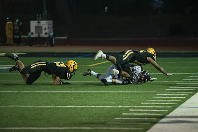 Taken during Varsity Football game between Monte Vista Matadors and MVHS Spartans at Mountain View High School CA on September 29th 2017