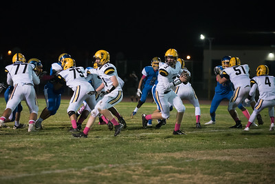 Taken during Varsity Football game between Santa Clara High School Bruins and MVHS Spartans at Santa Clara View High School CA on October 19th 2017