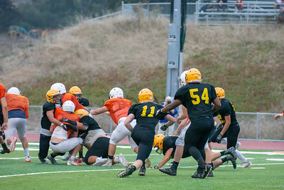 Taken during a scrimmage at HMB 8-17-18