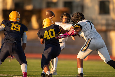Taken during a Football game between Milpitas Trojans and MVHS Spartans at Milpitas High School, Milpitas, CA on October 4th 2019