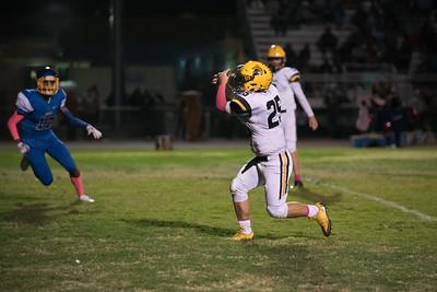 Taken during Varsity Football game between Santa Clara High School Bruins and MVHS Spartans at Santa Clara View High School CA on October 19th 2017