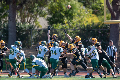 Taken at a High School Football game between Capuchino Hight School Mustangs and Mountain View Spartans at MVHS in Mountain View California 9-15-2018