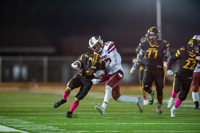 Taken during a High School Football game between the Fremont Firebirds and Mountain View Spartans on 10/18/2019