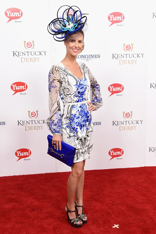 . LOUISVILLE, KY - MAY 06:  Erin Walker attends the 143rd Kentucky Derby at Churchill Downs on May 6, 2017 in Louisville, Kentucky.  (Photo by Michael Loccisano/Getty Images for Churchill Downs)