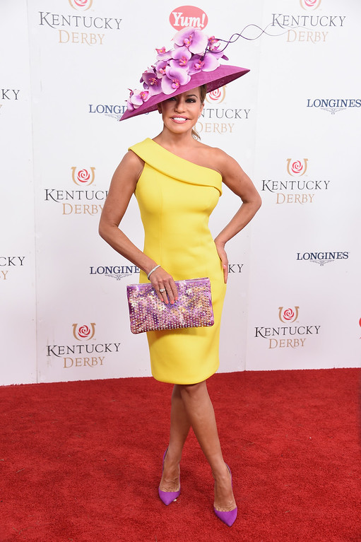 . LOUISVILLE, KY - MAY 06: Robin Meade attends the 143rd Kentucky Derby at Churchill Downs on May 6, 2017 in Louisville, Kentucky.  (Photo by Michael Loccisano/Getty Images for Churchill Downs)