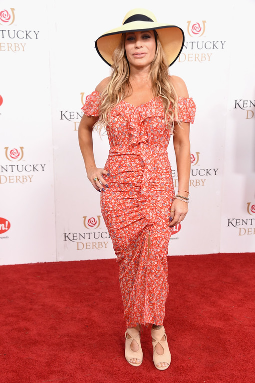 . LOUISVILLE, KY - MAY 06:  Taylor Dayne attends the 143rd Kentucky Derby at Churchill Downs on May 6, 2017 in Louisville, Kentucky.  (Photo by Michael Loccisano/Getty Images for Churchill Downs)