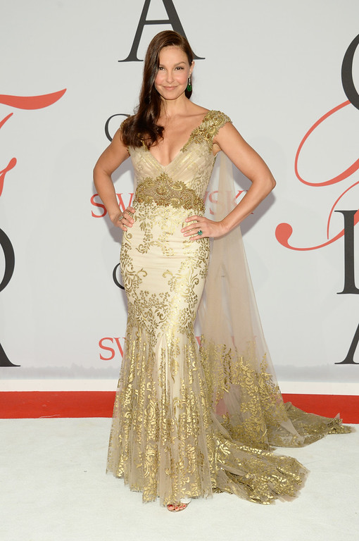 . Ashley Judd arrives at the 2015 CFDA Fashion Awards at Alice Tully Hall, Lincoln Center, on Monday, June 1, 2015, in New York. (Photo by Evan Agostini/Invision/AP)