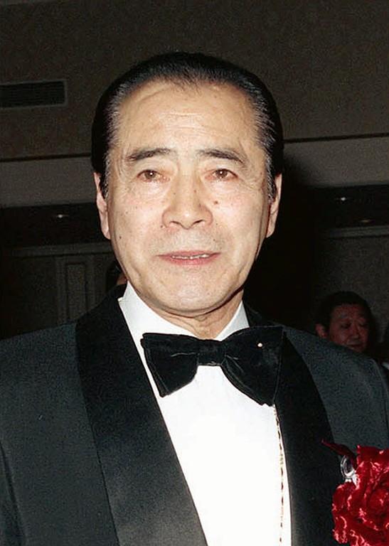 . Japanese film star Toshiro Mifune, shown in this Feb. 23, 1990  photo.  (AP Photo/Kyodo News)