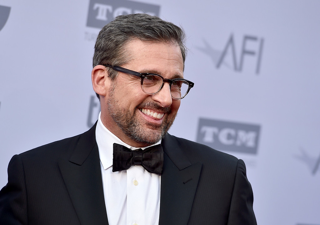. Steve Carell arrives at the 43rd AFI Lifetime Achievement Award Tribute Gala at the Dolby Theatre on Thursday, June 4, 2015, in Los Angeles. (Photo by Jordan Strauss/Invision/AP)