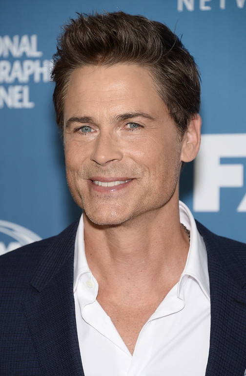 . Rob Lowe arrives at the Fox Network 2015 Programming Upfront at Wollman Rink in Central Park on Monday, May 11, 2015, in New York. (Photo by Evan Agostini/Invision/AP)