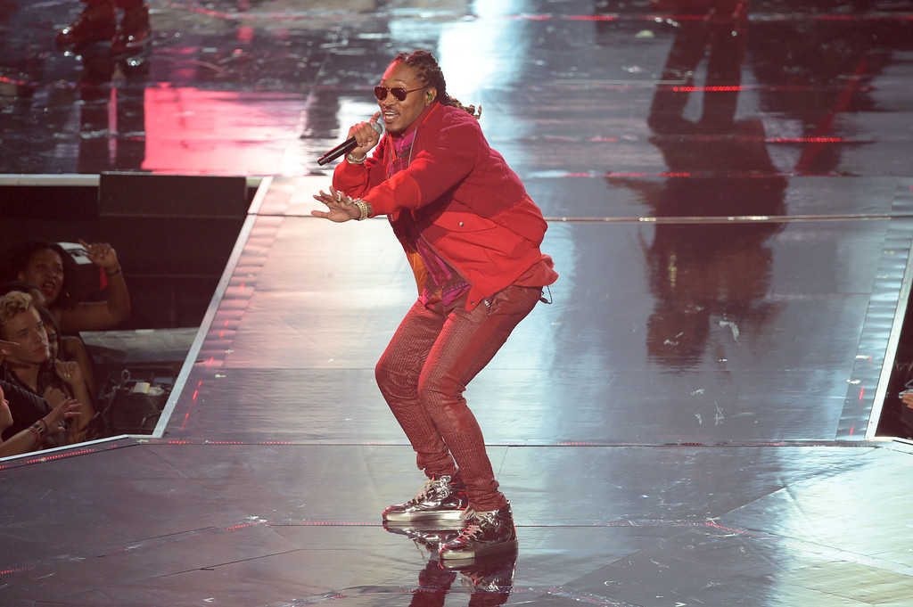. NEW YORK, NY - AUGUST 28:  Future performs onstage during the 2016 MTV Video Music Awards at Madison Square Garden on August 28, 2016 in New York City.  (Photo by Jason Kempin/Getty Images)
