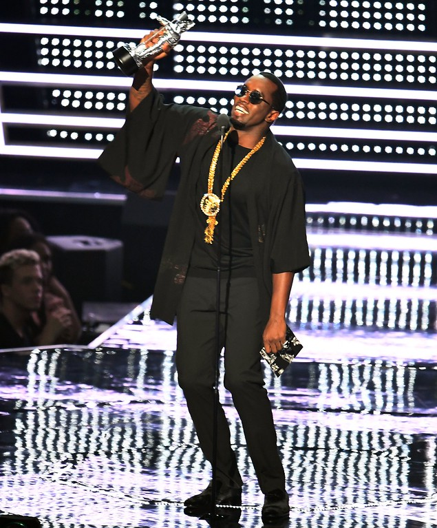 . Sean \'Diddy\' combs presents during the 2016 MTV Video Music Awards August 28, 2016 at Madison Square Garden in New York. (JEWEL SAMAD/AFP/Getty Images)
