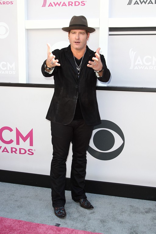 . Recording artist Jerrod Niemann arrives for the 52nd Academy of Country Music Awards on April 2, 2017, at the T-Mobile Arena in Las Vegas, Nevada. (TOMMASO BODDI/AFP/Getty Images)