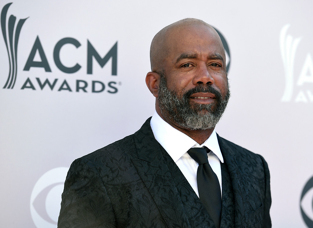 . Darius Rucker arrives at the 52nd annual Academy of Country Music Awards at the T-Mobile Arena on Sunday, April 2, 2017, in Las Vegas. (Photo by Jordan Strauss/Invision/AP)