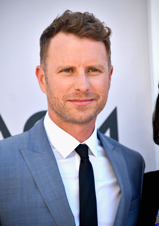 . LAS VEGAS, NV - APRIL 02:  Co-host Dierks Bentley attends the 52nd Academy Of Country Music Awards at Toshiba Plaza on April 2, 2017 in Las Vegas, Nevada.  (Photo by Frazer Harrison/Getty Images)