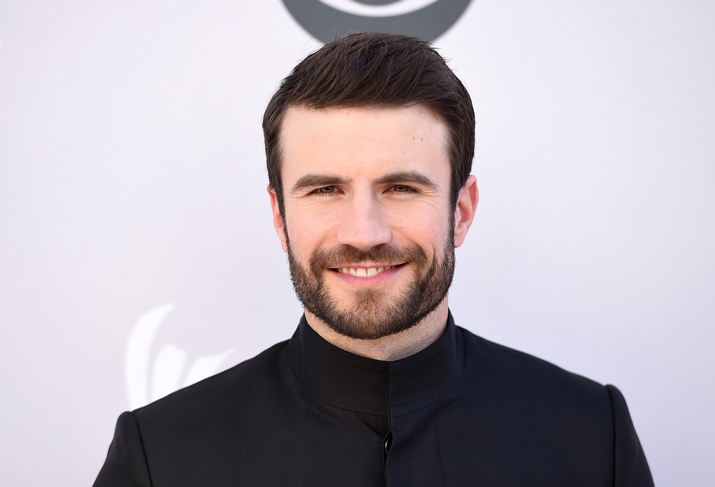. Sam Hunt arrives at the 52nd annual Academy of Country Music Awards at the T-Mobile Arena on Sunday, April 2, 2017, in Las Vegas. (Photo by Jordan Strauss/Invision/AP)