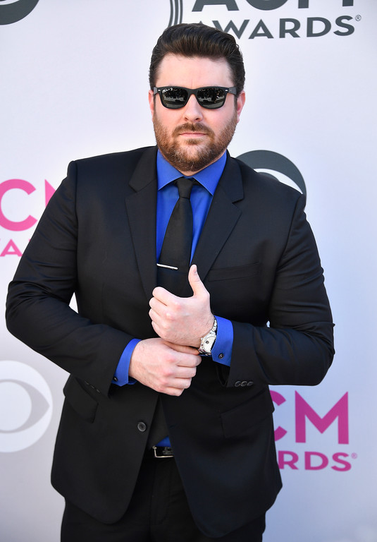 . LAS VEGAS, NV - APRIL 02:  Recording artist Chris Young attends the 52nd Academy Of Country Music Awards at Toshiba Plaza on April 2, 2017 in Las Vegas, Nevada.  (Photo by Frazer Harrison/Getty Images)