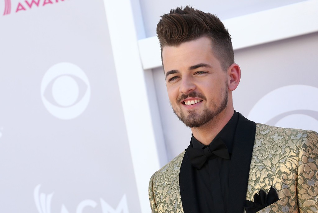 . Chase Bryant arrives for the 52nd Academy of Country Music Awards on April 2, 2017, at the T-Mobile Arena in Las Vegas, Nevada. (TOMMASO BODDI/AFP/Getty Images)