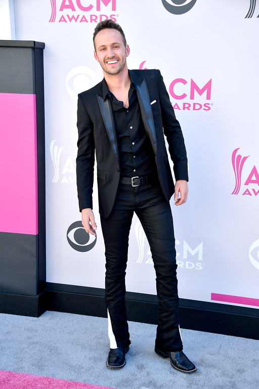 . LAS VEGAS, NV - APRIL 02:  Recording artist Drew Baldridge attends the 52nd Academy Of Country Music Awards at Toshiba Plaza on April 2, 2017 in Las Vegas, Nevada.  (Photo by Frazer Harrison/Getty Images)