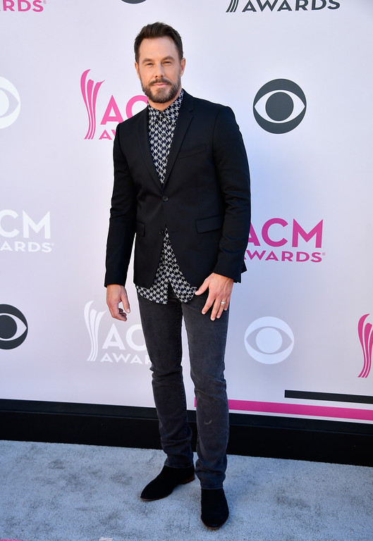 . LAS VEGAS, NV - APRIL 02:  Recording artist Jimi Westbrook of music group Little Big Town attends the 52nd Academy Of Country Music Awards at Toshiba Plaza on April 2, 2017 in Las Vegas, Nevada.  (Photo by Frazer Harrison/Getty Images)