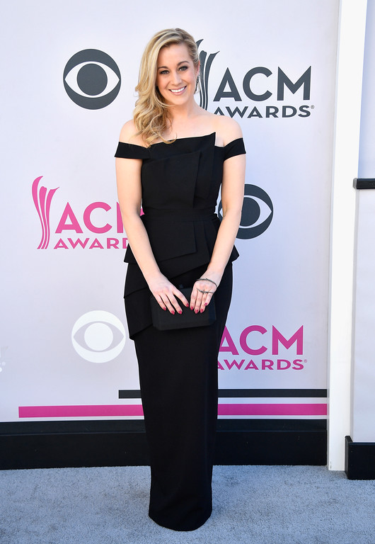 . LAS VEGAS, NV - APRIL 02:  Recording artist Kellie Pickler attends the 52nd Academy Of Country Music Awards at Toshiba Plaza on April 2, 2017 in Las Vegas, Nevada.  (Photo by Frazer Harrison/Getty Images)