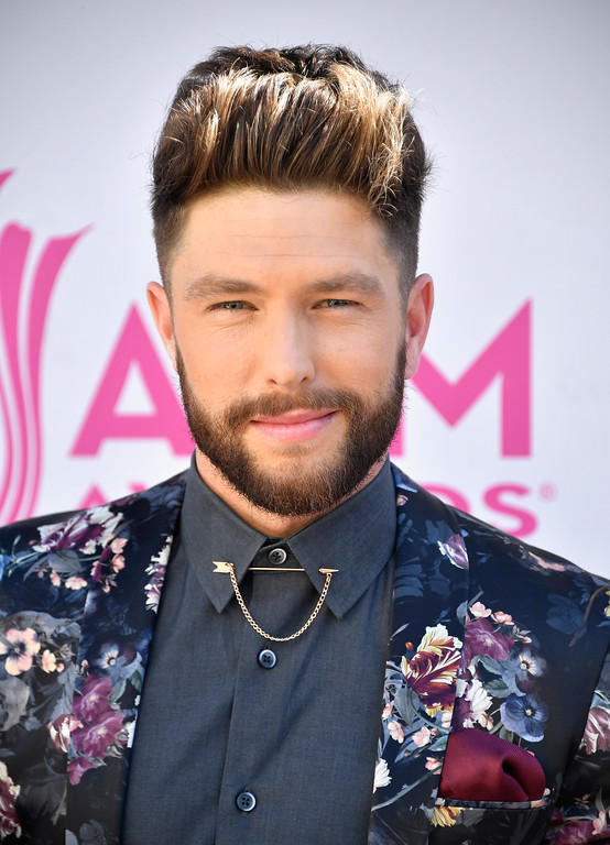 . LAS VEGAS, NV - APRIL 02:  Recording artist Chris Lane attends the 52nd Academy Of Country Music Awards at Toshiba Plaza on April 2, 2017 in Las Vegas, Nevada.  (Photo by Frazer Harrison/Getty Images)