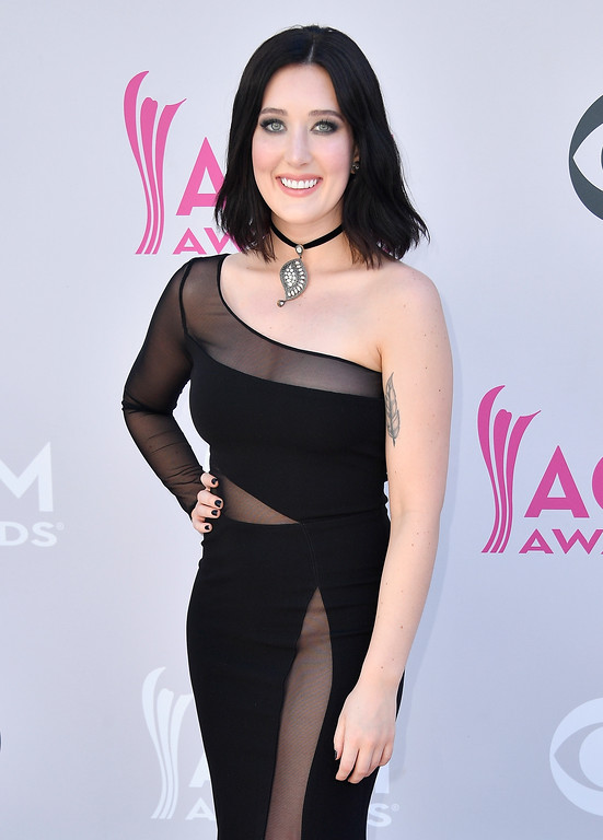 . LAS VEGAS, NV - APRIL 02:  Singer Aubrie Sellers attends the 52nd Academy Of Country Music Awards at Toshiba Plaza on April 2, 2017 in Las Vegas, Nevada.  (Photo by Frazer Harrison/Getty Images)