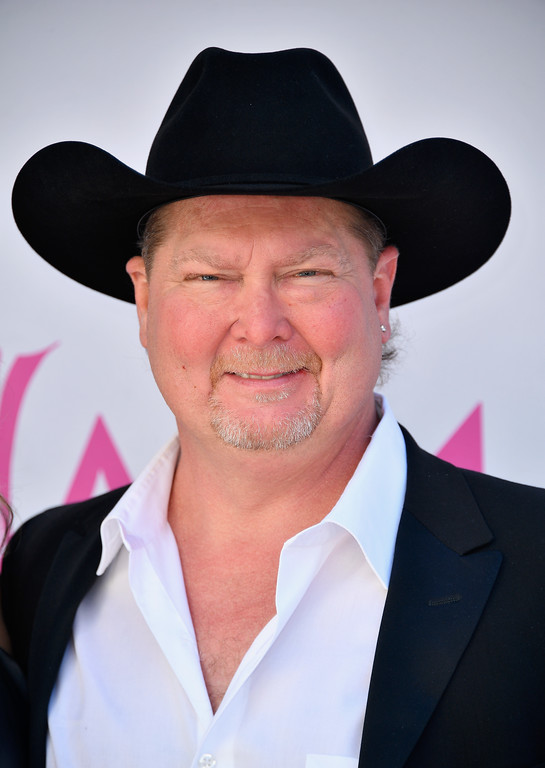 . LAS VEGAS, NV - APRIL 02:  Musician Tracy Lawrence attends the 52nd Academy Of Country Music Awards at Toshiba Plaza on April 2, 2017 in Las Vegas, Nevada.  (Photo by Frazer Harrison/Getty Images)