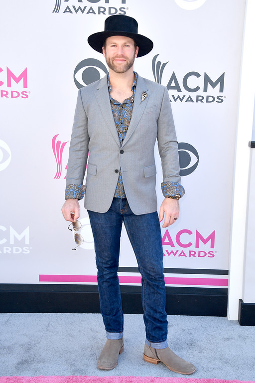 . LAS VEGAS, NV - APRIL 02:  Singer Drake White attends the 52nd Academy Of Country Music Awards at Toshiba Plaza on April 2, 2017 in Las Vegas, Nevada.  (Photo by Frazer Harrison/Getty Images)