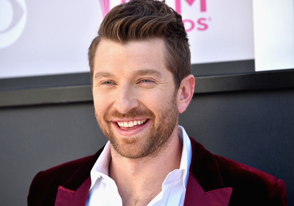 . LAS VEGAS, NV - APRIL 02:  Recording artist Brett Eldredge attends the 52nd Academy Of Country Music Awards at Toshiba Plaza on April 2, 2017 in Las Vegas, Nevada.  (Photo by Frazer Harrison/Getty Images)