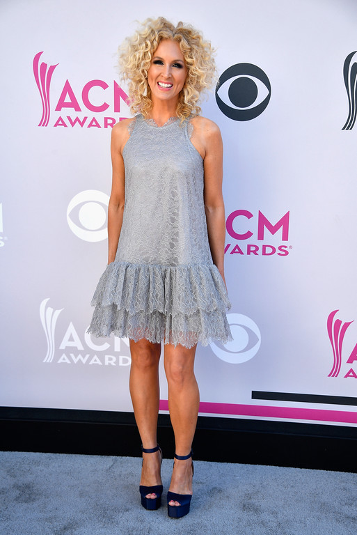 . LAS VEGAS, NV - APRIL 02:  Recording artist Kimberly Schlapman of music group Little Big Town attends the 52nd Academy Of Country Music Awards at Toshiba Plaza on April 2, 2017 in Las Vegas, Nevada.  (Photo by Frazer Harrison/Getty Images)