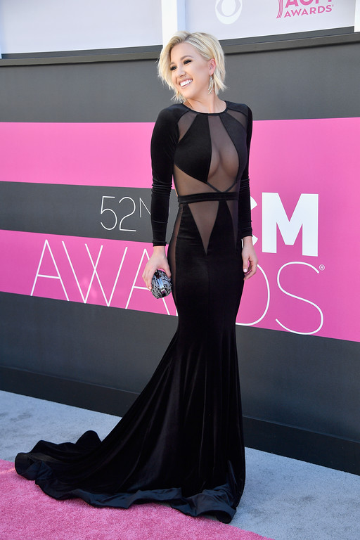 . LAS VEGAS, NV - APRIL 02:  TV personality Savannah Chrisley attends the 52nd Academy Of Country Music Awards at Toshiba Plaza on April 2, 2017 in Las Vegas, Nevada.  (Photo by Frazer Harrison/Getty Images)
