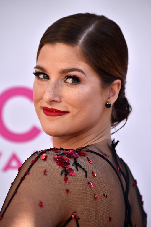 . LAS VEGAS, NV - APRIL 02:  Recording artist Cassadee Pope attends the 52nd Academy Of Country Music Awards at Toshiba Plaza on April 2, 2017 in Las Vegas, Nevada.  (Photo by Frazer Harrison/Getty Images)