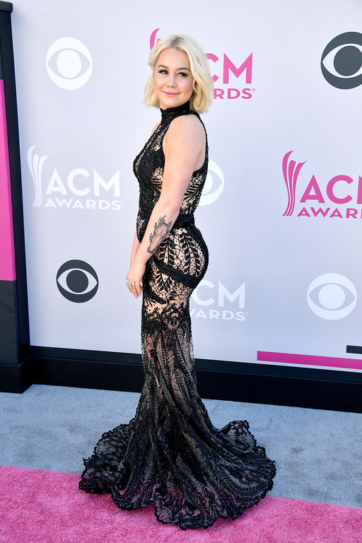 . LAS VEGAS, NV - APRIL 02:  Recording artist RaeLynn attends the 52nd Academy Of Country Music Awards at Toshiba Plaza on April 2, 2017 in Las Vegas, Nevada.  (Photo by Frazer Harrison/Getty Images)