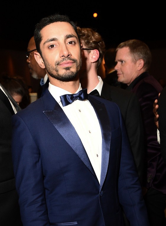 . Riz Ahmed attends the Governors Ball after the Oscars on Sunday, Feb. 26, 2017, at the Dolby Theatre in Los Angeles. (Photo by Al Powers/Invision/AP)