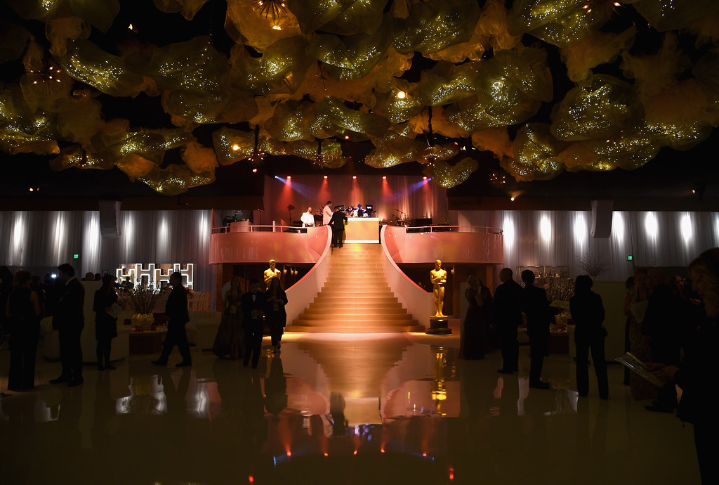. HOLLYWOOD, CA - FEBRUARY 26:  Decorations are displayed during the 89th Annual Academy Awards Governors Ball at Hollywood & Highland Center on February 26, 2017 in Hollywood, California.  (Photo by Kevork Djansezian/Getty Images)