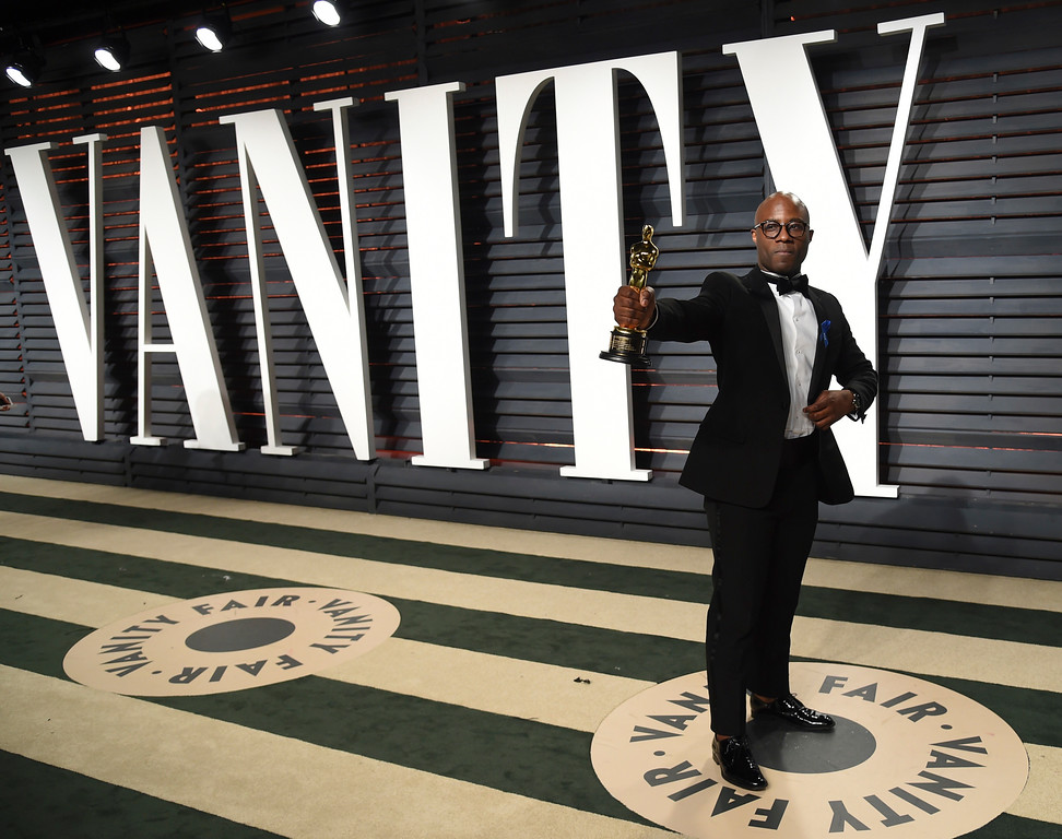 . Barry Jenkins arrives at the Vanity Fair Oscar Party on Sunday, Feb. 26, 2017, in Beverly Hills, Calif. (Photo by Evan Agostini/Invision/AP)