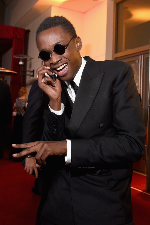 . HOLLYWOOD, CA - FEBRUARY 26:  Actor Ashton Sanders attend the 89th Annual Academy Awards Governors Ball at Hollywood & Highland Center on February 26, 2017 in Hollywood, California.  (Photo by Kevork Djansezian/Getty Images)