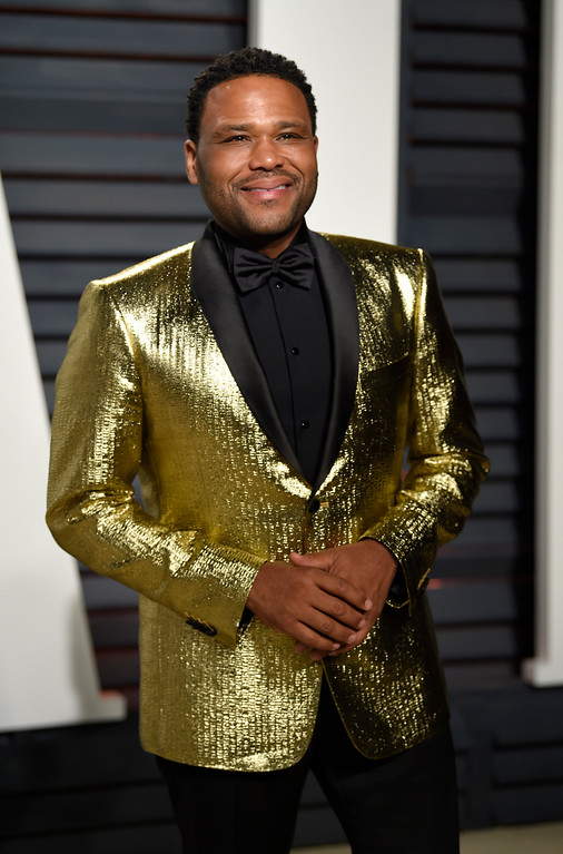 . Anthony Anderson arrives at the Vanity Fair Oscar Party on Monday, Feb. 27, 2017, in Beverly Hills, Calif. (Photo by Evan Agostini/Invision/AP)
