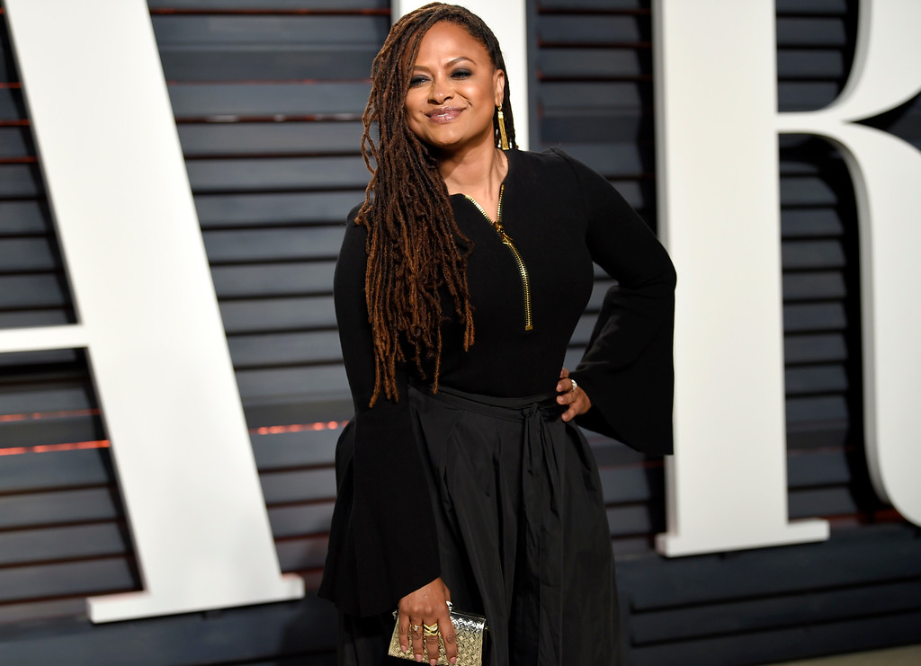 . Ava DuVernay arrives at the Vanity Fair Oscar Party on Monday, Feb. 27, 2017, in Beverly Hills, Calif. (Photo by Evan Agostini/Invision/AP)