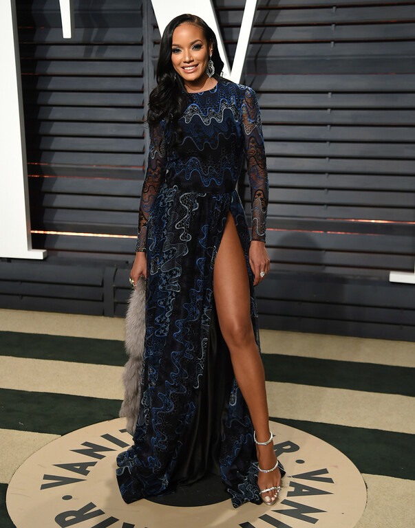 . Model Selita Ebanks arrives at the Vanity Fair Oscar Party on Monday, Feb. 27, 2017, in Beverly Hills, Calif. (Photo by Evan Agostini/Invision/AP)
