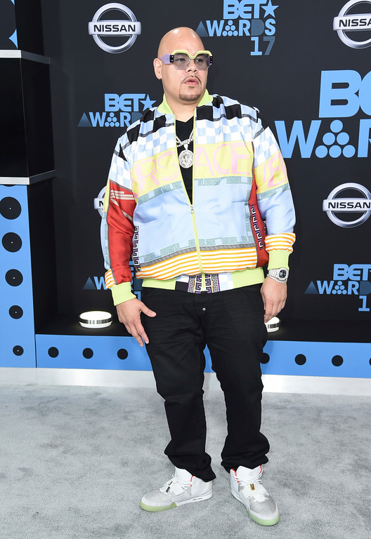 . Fat Joe arrives at the BET Awards at the Microsoft Theater on Sunday, June 25, 2017, in Los Angeles. (Photo by Richard Shotwell/Invision/AP)