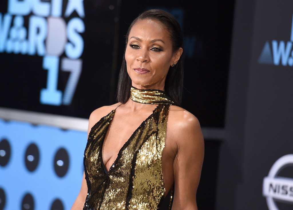 . Jada Pinkett Smith arrives at the BET Awards at the Microsoft Theater on Sunday, June 25, 2017, in Los Angeles. (Photo by Richard Shotwell/Invision/AP)