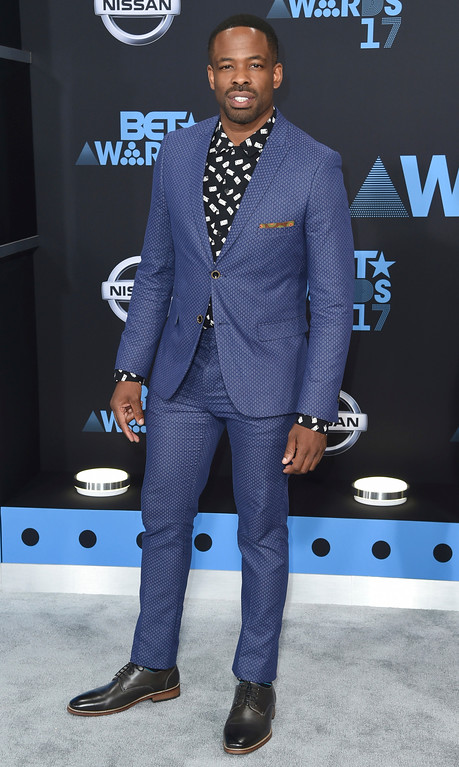 . Chike Okonkwo arrives at the BET Awards at the Microsoft Theater on Sunday, June 25, 2017, in Los Angeles. (Photo by Richard Shotwell/Invision/AP)
