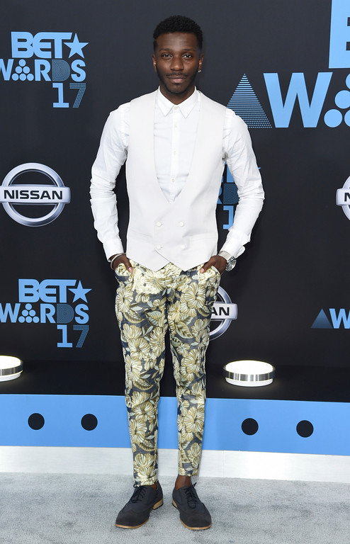 . Bernard David Jones arrives at the BET Awards at the Microsoft Theater on Sunday, June 25, 2017, in Los Angeles. (Photo by Richard Shotwell/Invision/AP)